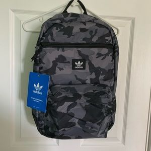 ADIDAS Orignals National Black Camo Backpack